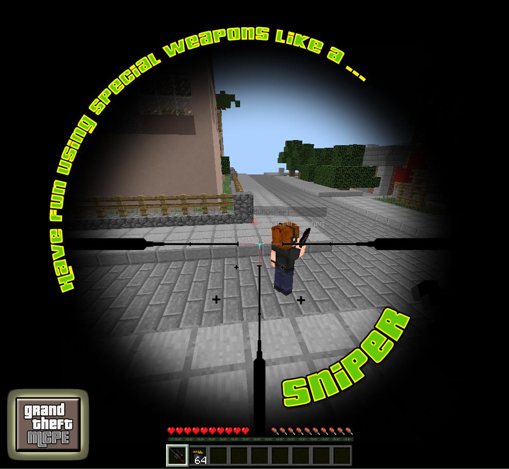 GrandTheftMCPE Minecraft PE server